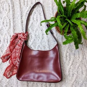 J Crew Red Leather Purse